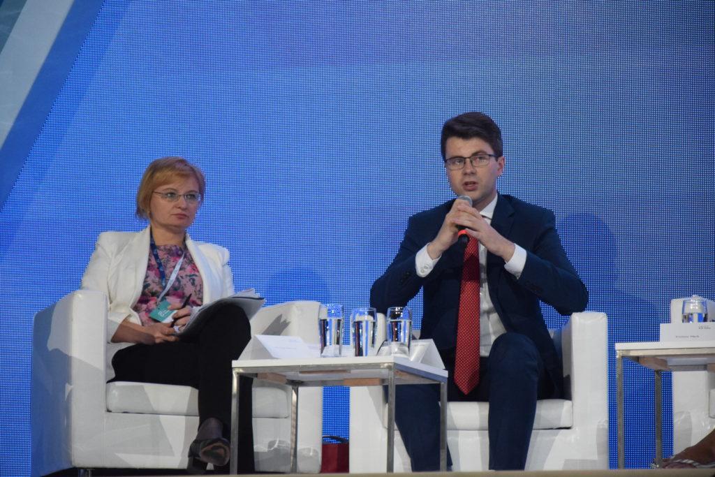 od lewej: Jolanta Perek-Białas, Piotr Müller