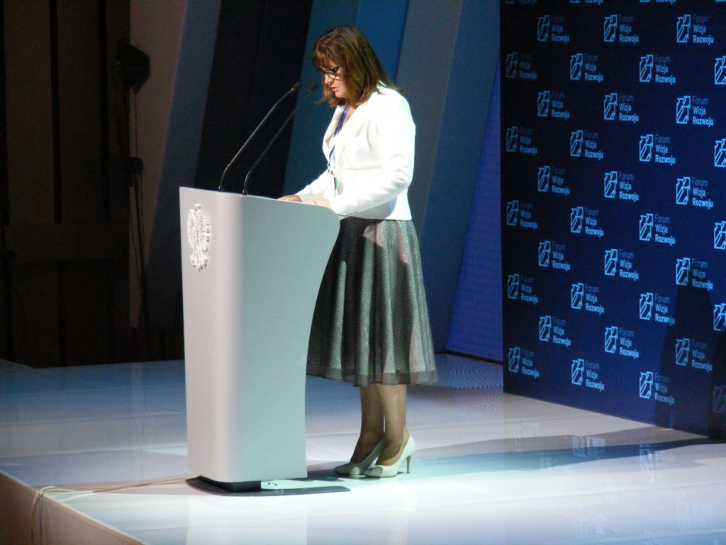 Poseł na Sejm RP Małgorzata Zwiercan